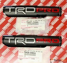 Toyota Tacoma 2016-2018 TRD PRO Front Door Emblem Set of 2 Genuine