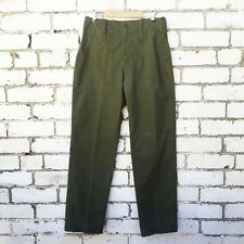 Vintage Army Pants - Utility Workwear Trousers Green 80s 90s -26 28 30 32 34 36