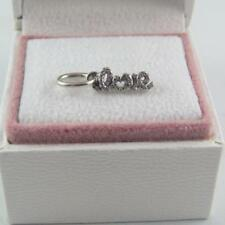 PANDORA Signature of Love Charm (Sterling Silver S925 ALE) #791428CZ
