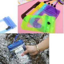 Waterproof Bag Case Pouch Cover Protector Swimming Beach For Mobile Phone 1pc UP
