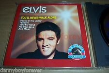 Elvis Presley NM 1987 Canada CD 084646247227 You'll Never Walk Alone NOT reissue