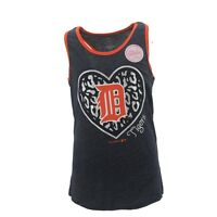 Girls Youth Size MLB Detroit Tigers Tank Top Shiny Logo multiple sizes New
