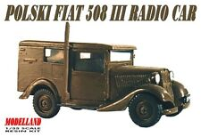 POLSKI FIAT 508 RADIO CAR (POLISH ARMY 1939 MARKINGS) 1/35 MODELLAND