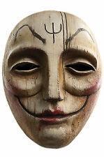 Krampus Window Peeper Clod Dark Evil Elf Troll SOLID RESIN Mask Trick or Treat