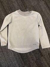 PATAGONIA - Boys Capilene Base Layer Long Sleeve Gray Pullover Size XXS 3/4
