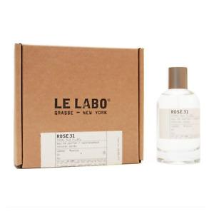 Le Labo Rose 31 3.4oz Unisex Eau de Parfum , New in box