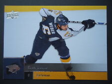NHL 130 Shea Weber Nashville Predators Upper Deck 2009/10