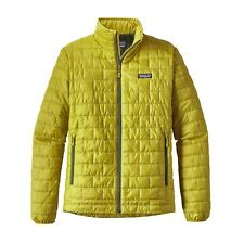 Patagonia Men's Nano Puff® Full Zip Jacket - Fluid Green - FLGR - L / Large