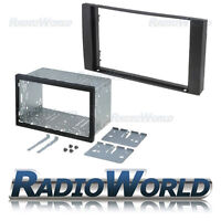 Ford Transit & S-Max Double Din Fascia Panel Adapter Plate Cage Fitting Kit