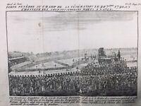Nancy en 1790 Pompe Funèbre au Champ de la fédération Révolution Française