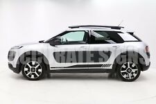 DECAL GRAPHICS FOR CITROEN C4 CACTUS STICKERS (PAIR) ANY COLOUR