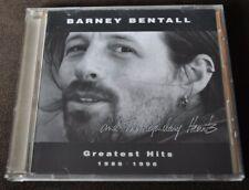Barney Bentall & Legendary Hearts - Greatest Hits 1986 - 1996 CD 1996 Sony Cda