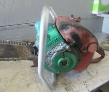 "VINTAGE COLLECTIBLE HOMELITE 17 CHAINSAW WITH 18"" BAR"