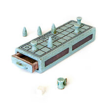 "Senet Decorative Board Game - Premium Handmade Ceramic Replica Set, 12.6"""