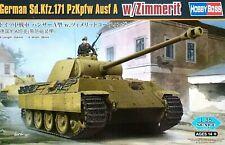 Hobbyboss 1:35 Sd.Kfz.171 PzKpfw Ausf.A With Zimmerit Tank Model Kit