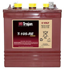 Trojan T-105RE, 6V 225 Ah Deep Cycle Battery- Delivery to anywhere(lower 48)