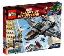 6869 QUINJET AERIAL BATTLE marvel super heroes LEGO NEW thor loki iron man