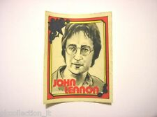 ADESIVO anni '80 vintage / Old Sticker singer JOHN LENNON (cm 6 x 7,5)