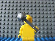Grey Silver Mase for Lego mini figure  zombie MOC Custom