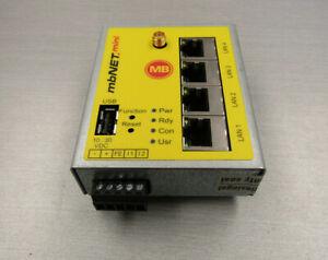MbNET mini MDH-861 Industrial VPN Router MBNet.mini Remote Access