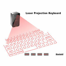 Mini Portable Laser Virtual Projection Keyboard And Mouse To For Tablet Pc A^^