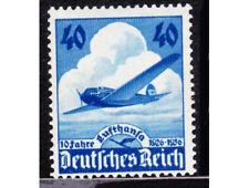 Germania DEUTSCHES REICH 1936 Mi. Nr. 603 10th ANNIVERSARIO DELLA LUFTHANSA Gomma integra, non linguellato