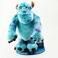 ~ Rare ~ Disney Pixar Monsters Inc ~ Monsters University Talking Moving Sulley ~