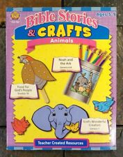 Bible Stories & Crafts: Animals - Activities For Ages 5-9 Creation, Noah, Exodus