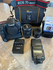 Canon EOS 7D Mark II  20.2MP Digital SLR Camera
