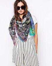 Designer Scarf Shawl Wrap ✦ 100% MODAL ✦ Bright Zebra by Coco & Sebastian