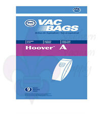 Hoover Type A Upright Vacuum Bags 9 Pack