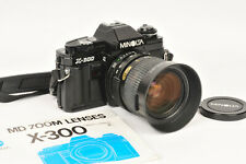 Minolta X-300 35mm SLR in Black with Minolta MD Zoom 35-70mm (Leica Vario Elmar)
