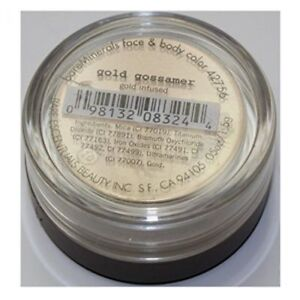 BareMinerals Face & Body colour gold infused GOLD GOSSAMER 1.5GMS