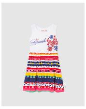 Vêtements multicolores pour fille de 2 à 16 ans en 100% coton, 11 - 12 ans