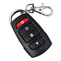 4 Channel RF Garage Door Wireless Remote Control Cloning 433mhz Electric Keyfob.