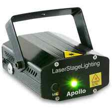 LASER VERT ROUGE APOLLO MULTIPOINTS LED ROUGE 120mW LED VERTE 50mW ECLAIRAGE