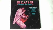 ELVIS PRESLEY  FOR OL' TIMES SAKES/RAISED ON ROCK  VINYL ALBUM