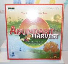 2008 Abundant Harvest Board Game teen to adult 12+ New Sealed 2-8 players