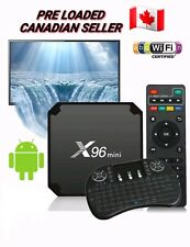 Android Box 7.1 TV BOX x96 Mini Smart 4K + Keyboard BACKLIT - 17.6 KODI PROGRAM