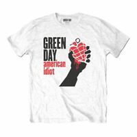 Mens Green Day American Idiot White T-Shirt - Unisex Music Tee