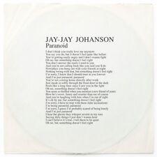 """Jay-Jay Johanson - Paranoid [New 12"""" Vinyl] Holland - Import"""