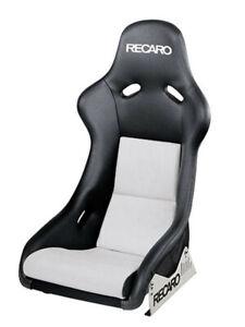 Recaro Pole Position Cuero Artificial Negro/Dinamica Plata Con ABE