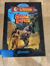Worlds of Ultima: The Savage Empire - vintage  BOX 1990 DOS 3.5 Floppies