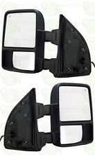 Tow Mirrors Ford Towing Side Mirrors Power Heated Signal for 08-15 Super Duty