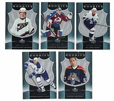 2005-06 UPPER DECK ARTIFACTS ROOKIE CARDS (5) #750