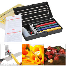 Professional Sharpener Deluxe Kitchen Knife Sharpening System Fix-angle+5 Stone