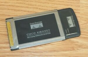 Cisco Systems (AIR-CB21AG-A-K9) 802.11a/b/g Wireless Adapter Laptop Card *Only*