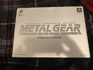 Metal Gear Solid - Premium Package (1998,Sony PlayStation) - Japan *NO SHIRT