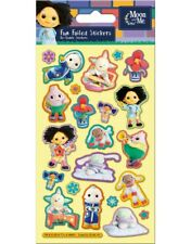 Moon and Me Fun Foiled Stickers sheet Official Product over 20 Stickers CBEEBIES