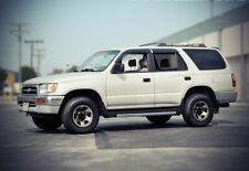 WellVisors For 96-02 Toyota 4Runner Clip On Smoke Side Window Visors Deflectors